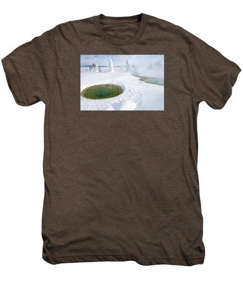 Steam And Snow Men's Premium T-Shirt