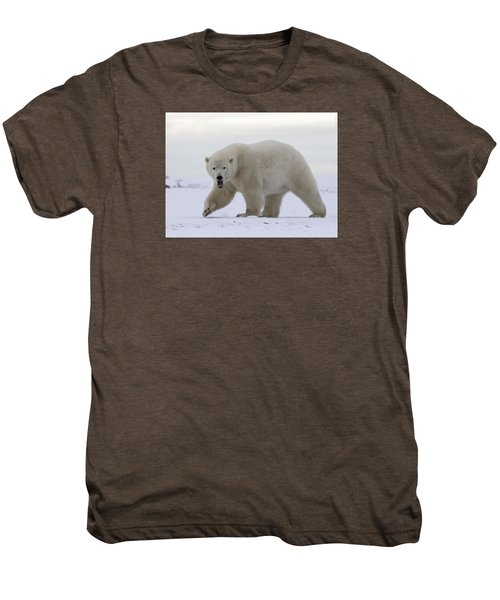 Stepping Out In The Arctic Men's Premium T-Shirt