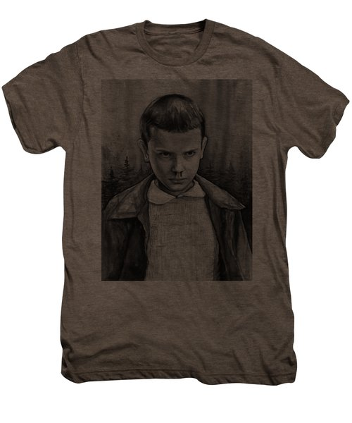 Stranger Things Fan Art Eleven Men's Premium T-Shirt