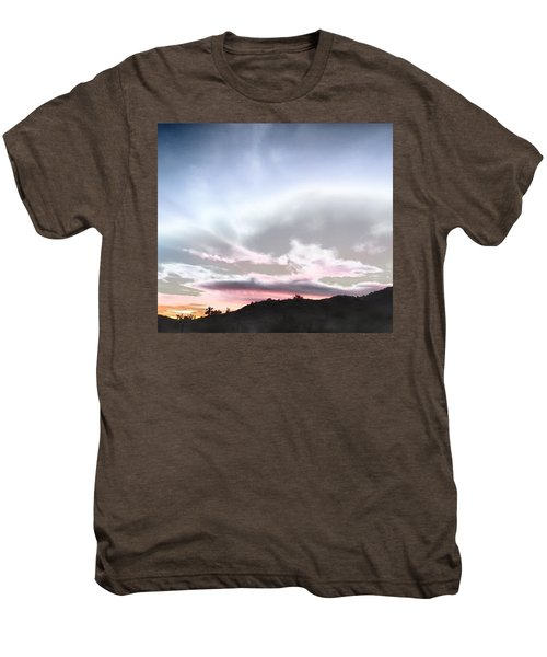 Submarine In The Sky Men's Premium T-Shirt