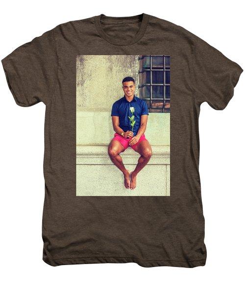 Summer In City Men's Premium T-Shirt