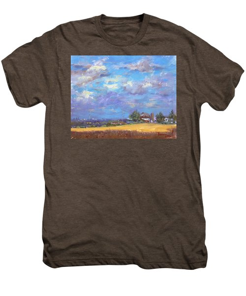 Sun And Clouds Georgetown  Men's Premium T-Shirt