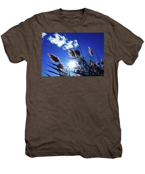 Sunburst Reeds Men's Premium T-Shirt