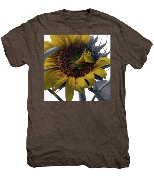 Sunflower Bee Men's Premium T-Shirt