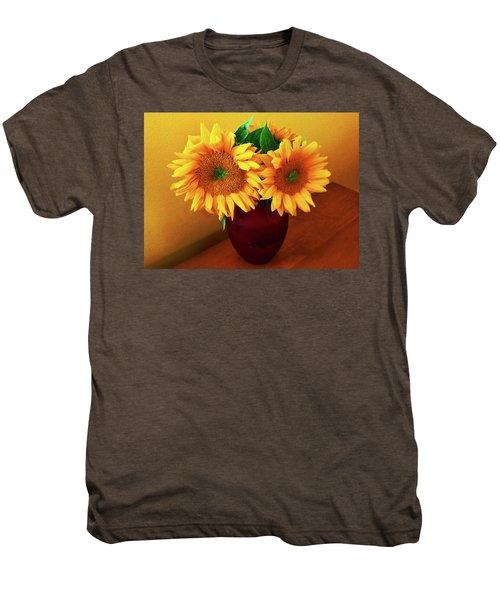 Sunflower Corner Men's Premium T-Shirt