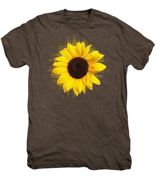 Sunflower Sunburst Men's Premium T-Shirt