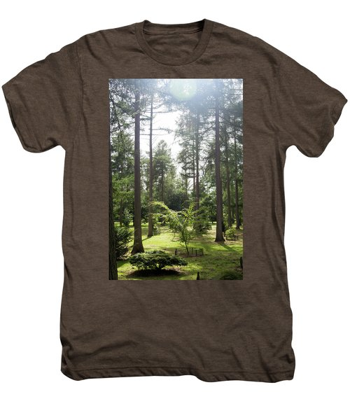 Sunlight Through The Trees Men's Premium T-Shirt