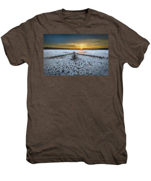 Sunrise At Soda Lake Men's Premium T-Shirt