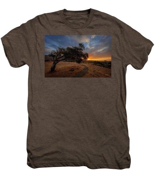 Sunrise Over San Luis Obispo Men's Premium T-Shirt