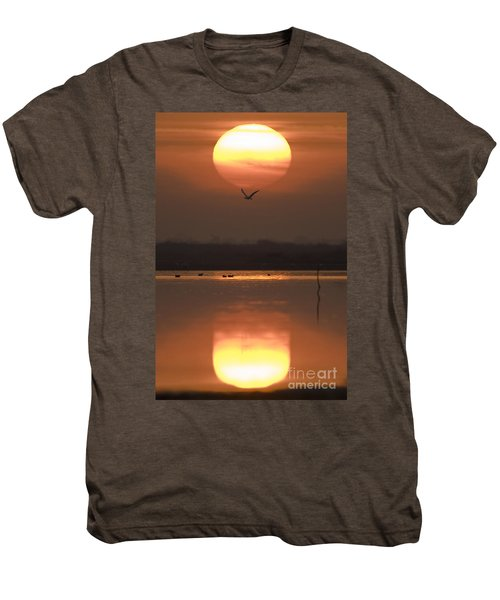 Sunrise Reflection Men's Premium T-Shirt