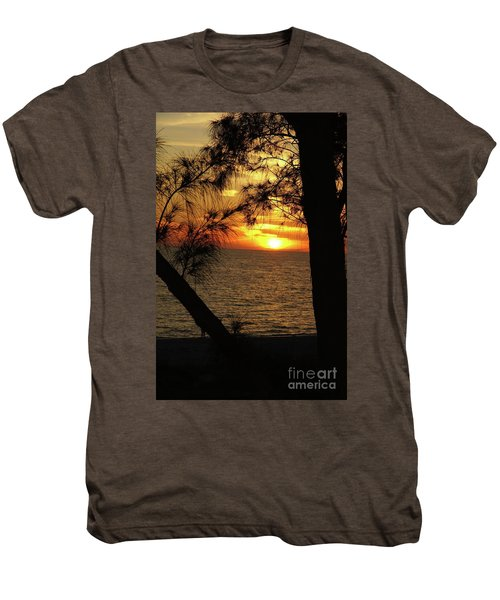 Sunset 1 Men's Premium T-Shirt by Megan Cohen