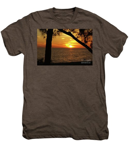 Sunset 2 Men's Premium T-Shirt by Megan Cohen