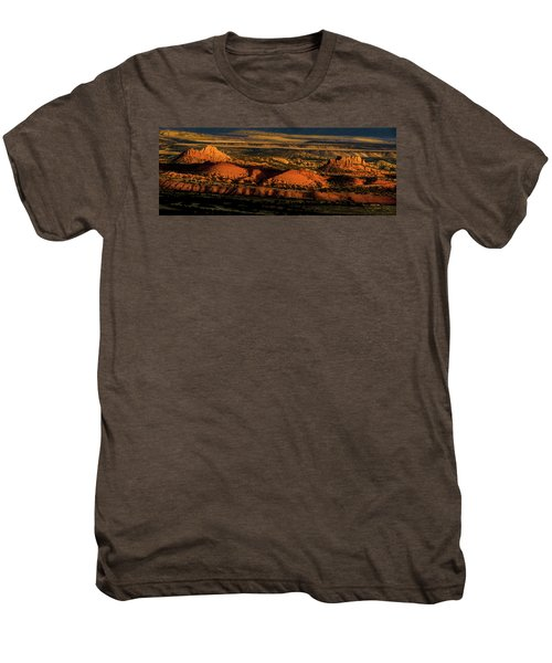 Sunset At Donkey Flats Men's Premium T-Shirt