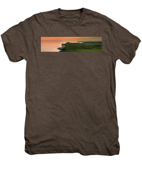Sunset At The Belle Tout Lighthouse Men's Premium T-Shirt