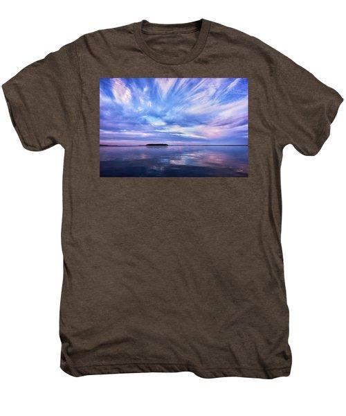 Sunset Awe  Signed Men's Premium T-Shirt