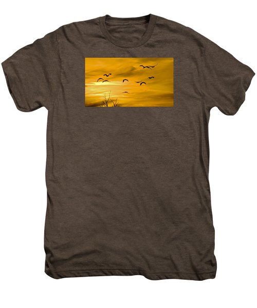 Sunset Fliers Men's Premium T-Shirt