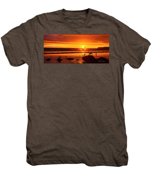 Sunset Surprise Pano Men's Premium T-Shirt