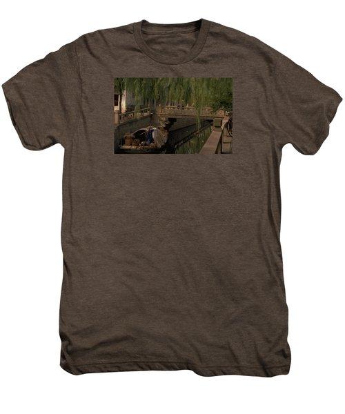Suzhou Canals Men's Premium T-Shirt