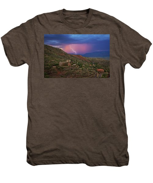 Sycamore Canyon Lightning With Little Daisy Men's Premium T-Shirt
