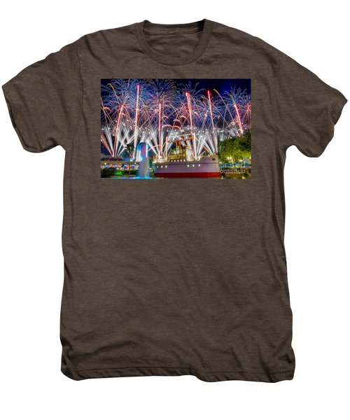 Symphony In The Stars As Seen Around Echo Lake Men's Premium T-Shirt
