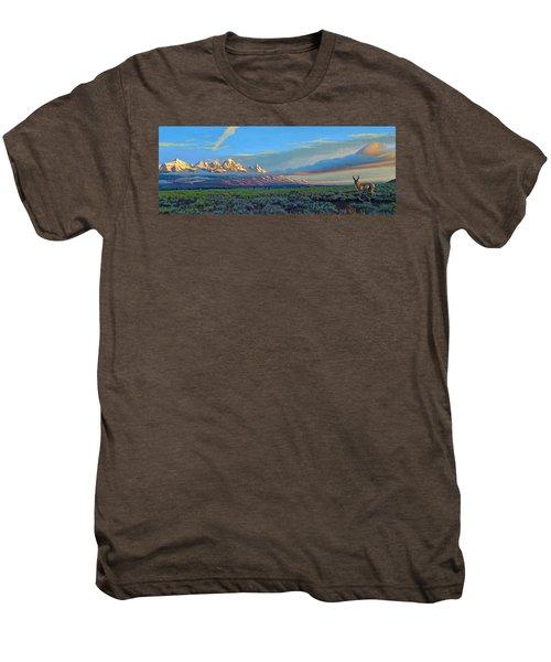 Teton Morning Men's Premium T-Shirt