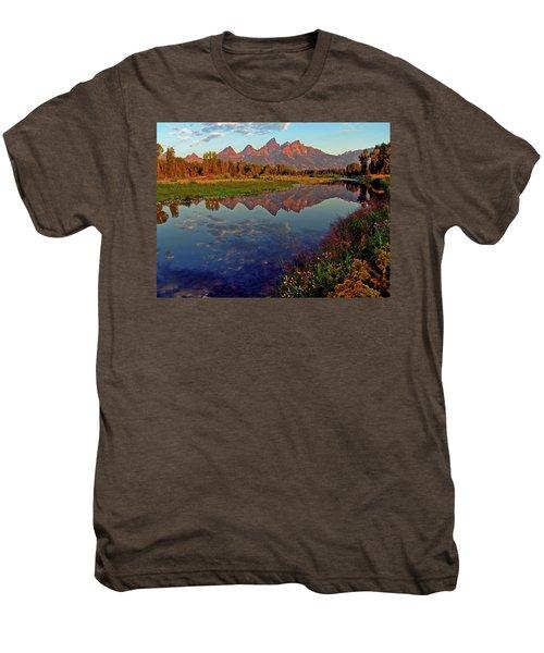Teton Wildflowers Men's Premium T-Shirt