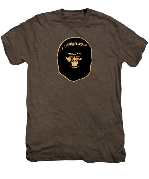 The Ape Men's Premium T-Shirt by Jurgen Rivera