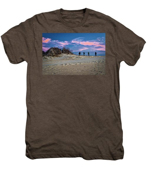 The Colors Of Sunset Men's Premium T-Shirt