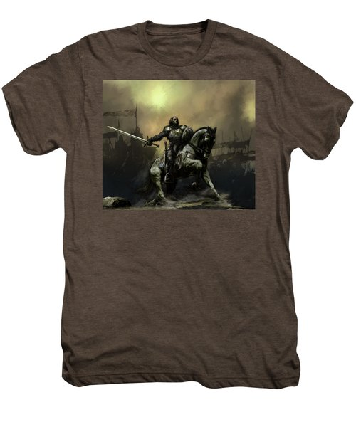 The Defiant Men's Premium T-Shirt by David Willicome