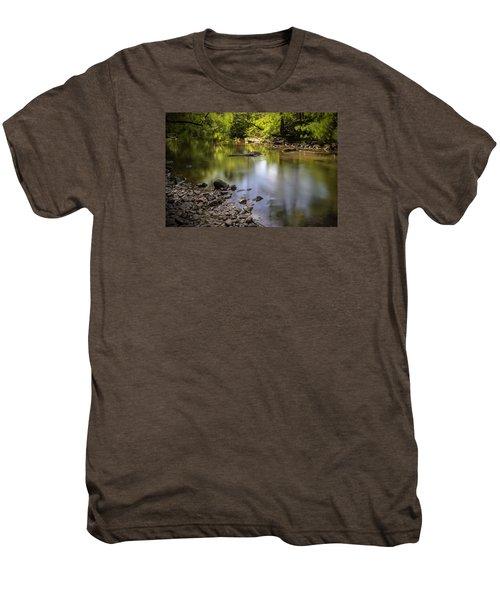 Men's Premium T-Shirt featuring the photograph The Devon River by Jeremy Lavender Photography