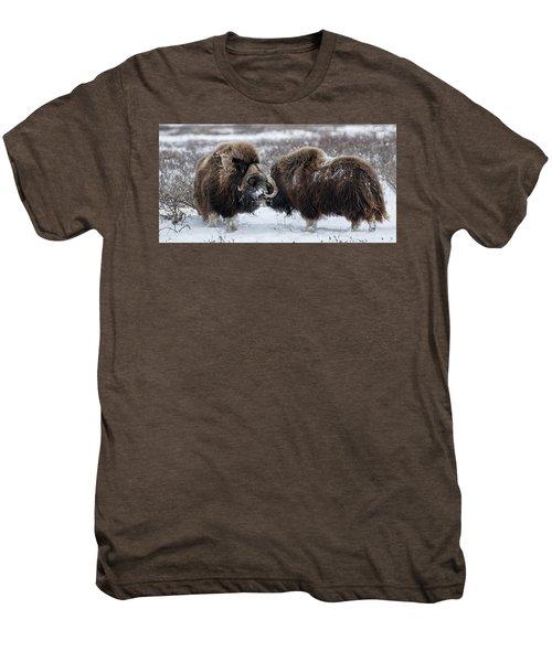 The Face Off  Men's Premium T-Shirt