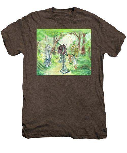 The Fae - Sylvan Creatures Of The Forest Men's Premium T-Shirt