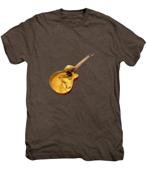 The Guitar Is A Lady Men's Premium T-Shirt
