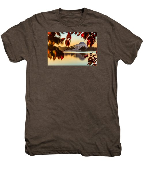 Jefferson In Autumn Men's Premium T-Shirt
