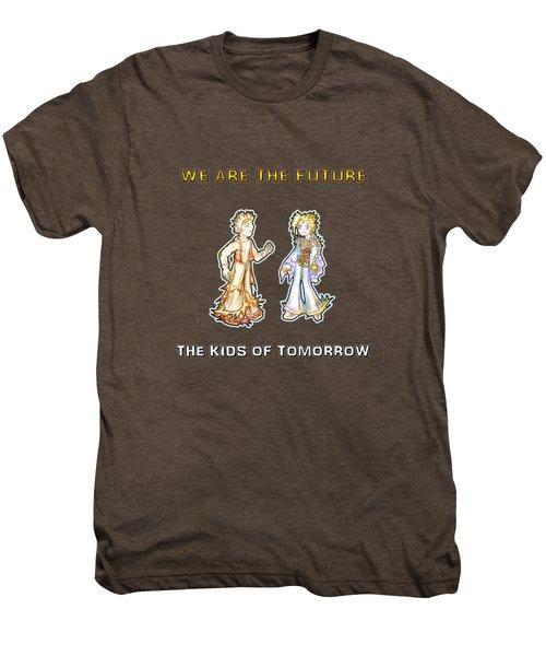 The Kids Of Tomorrow Corie And Albert Men's Premium T-Shirt