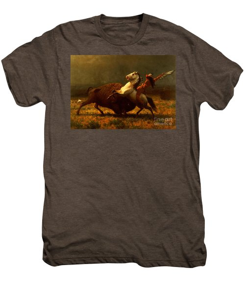The Last Of The Buffalo Men's Premium T-Shirt