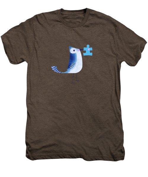 The Letter Blue J Men's Premium T-Shirt