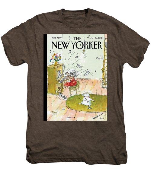 Winter Blues Men's Premium T-Shirt