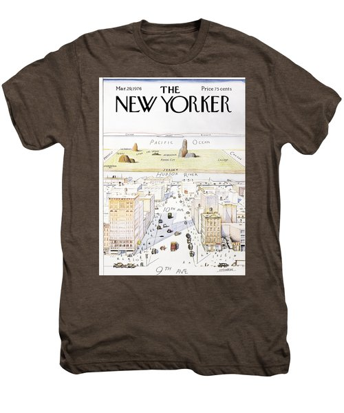 View From 9th Avenue Men's Premium T-Shirt
