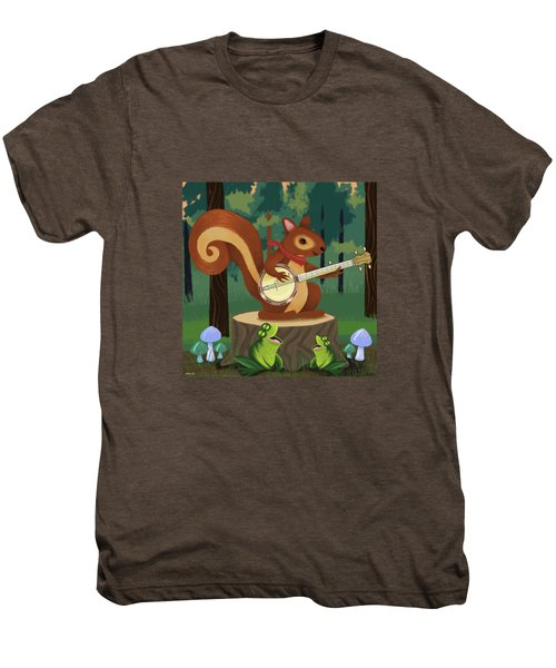 The Nutport Croak Music Festival Men's Premium T-Shirt