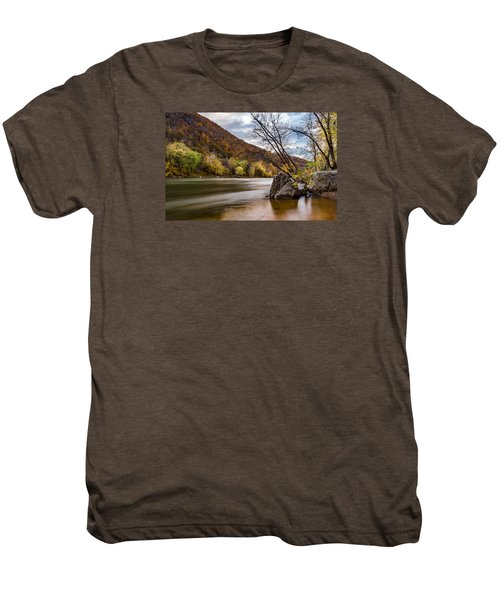The Shenandoah In Autumn Men's Premium T-Shirt
