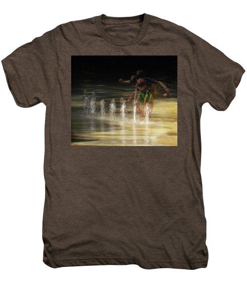 The Water Maestro  Men's Premium T-Shirt