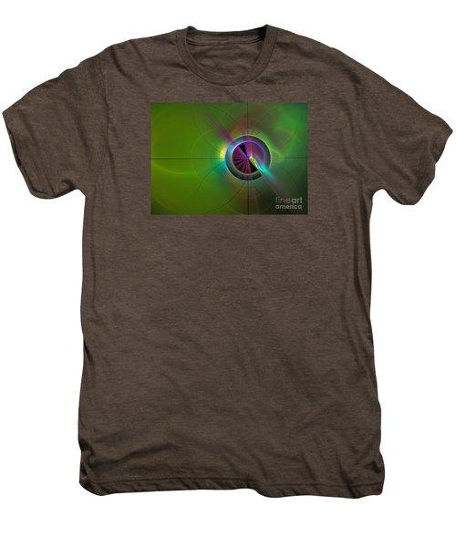 Theory Of Green - Abstract Art Men's Premium T-Shirt