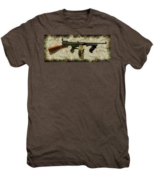 Thompson Submachine Gun 1921 Men's Premium T-Shirt