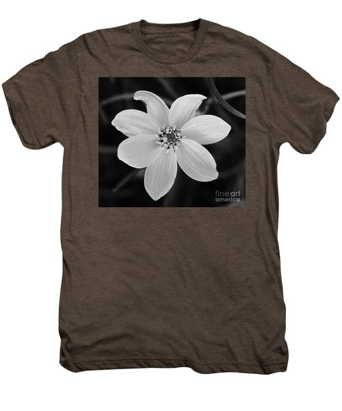 Threadleaf In Black And White Men's Premium T-Shirt