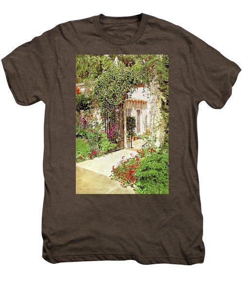 Through The Garden Gate Men's Premium T-Shirt