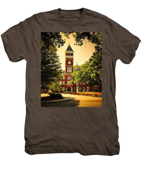 Tillman Hall - Clemson University Men's Premium T-Shirt