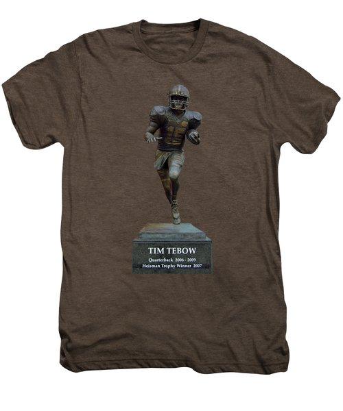 Tim Tebow Transparent For Customization Men's Premium T-Shirt by D Hackett