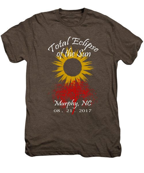 Total Eclipse T-shirt Art Murphy Nc Men's Premium T-Shirt