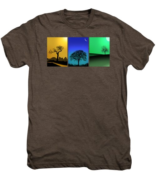 Tree Triptych Men's Premium T-Shirt